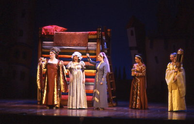 Drama tech blog different sets Once upon a mattress set design plans